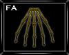 (FA)BoneSkirt Gold