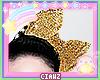 👑 Kid Left Gold Bow
