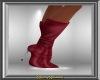 Wine Stiletto Boots