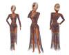 Boho Print Beach Dress