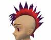 Mohawk Red Purple Tips