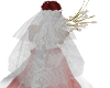 white lace veil no tiara