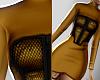 Mustard Corset Dress