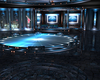 Aqua Blue City Room