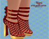 Malice red  boots