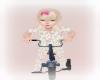 Toddler Girl on bike