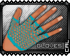 [c] FNET Gloves Blue