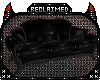 R} Leather Goth Couch