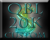 QBL 20k Custom Sticker