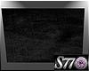 [S77]Black Fuzz Rug