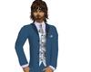 full mans suit (teal)