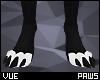 V e Black Paws M