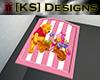 [KS] Pooh Blanket Pink