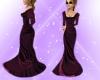 M.R. Burgundy Gown