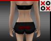 Succubus Mini Shorts