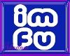 {SP} IMFU Blue Sticker