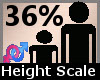 Height Scaler 36% F A