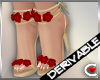 DRV Strappy Rose Heels