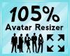 Avatar Scaler 105%