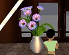 secluded flowers vase