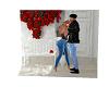 rose house backdrop