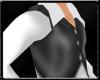White top/Black vest