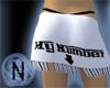 (N) My Number Skirt Blk