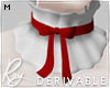 Ruffled Bow Collar