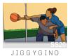 Love & Basketball canvas