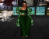 Emerald Gem Pants Suit