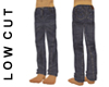 SJ Low-cut Denim Jeans