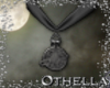 Witch Pendant - Pewter