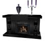 LK Black Fireplace