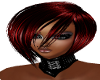 [DM]Melinda hair red&blk