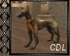 !C* E Anim. Dog Statue