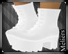 Biker Boots White