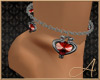Gothic Hearts Anklet L