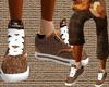 *CA* Brown n Tan Kicks