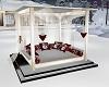 ROMANTIC CHRISTMAS BED