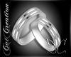 Platin Wedding Ring Fem.