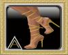 (AL)Strappy Heels Mustar