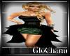 Glo* Elisa Dress~G/B