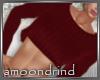 AM:: Crimson Cropped Swe