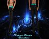 Black Pants w/Blue Belt