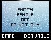 0 | Empty F Accessory