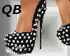 Q~Black Spiked Platforms