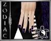 Dark Indigo Nails