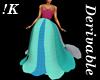 !K!Delure Petal Gown 1