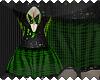 S~ EMO_Dress!Green*!