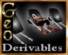 Geo Wheelbarrow Chairs